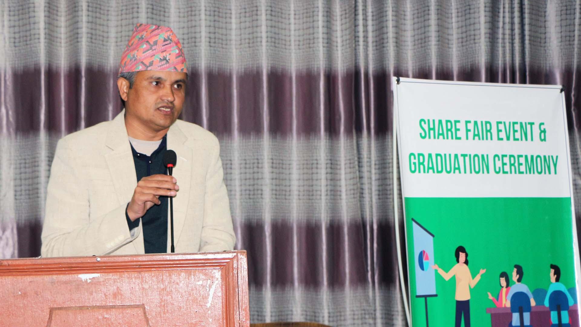 NEFEJ organizes Share Fair Event