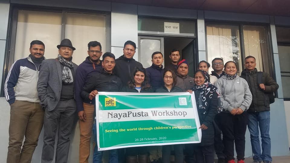 Eleven Stringers participate in NayaPusta Workshop