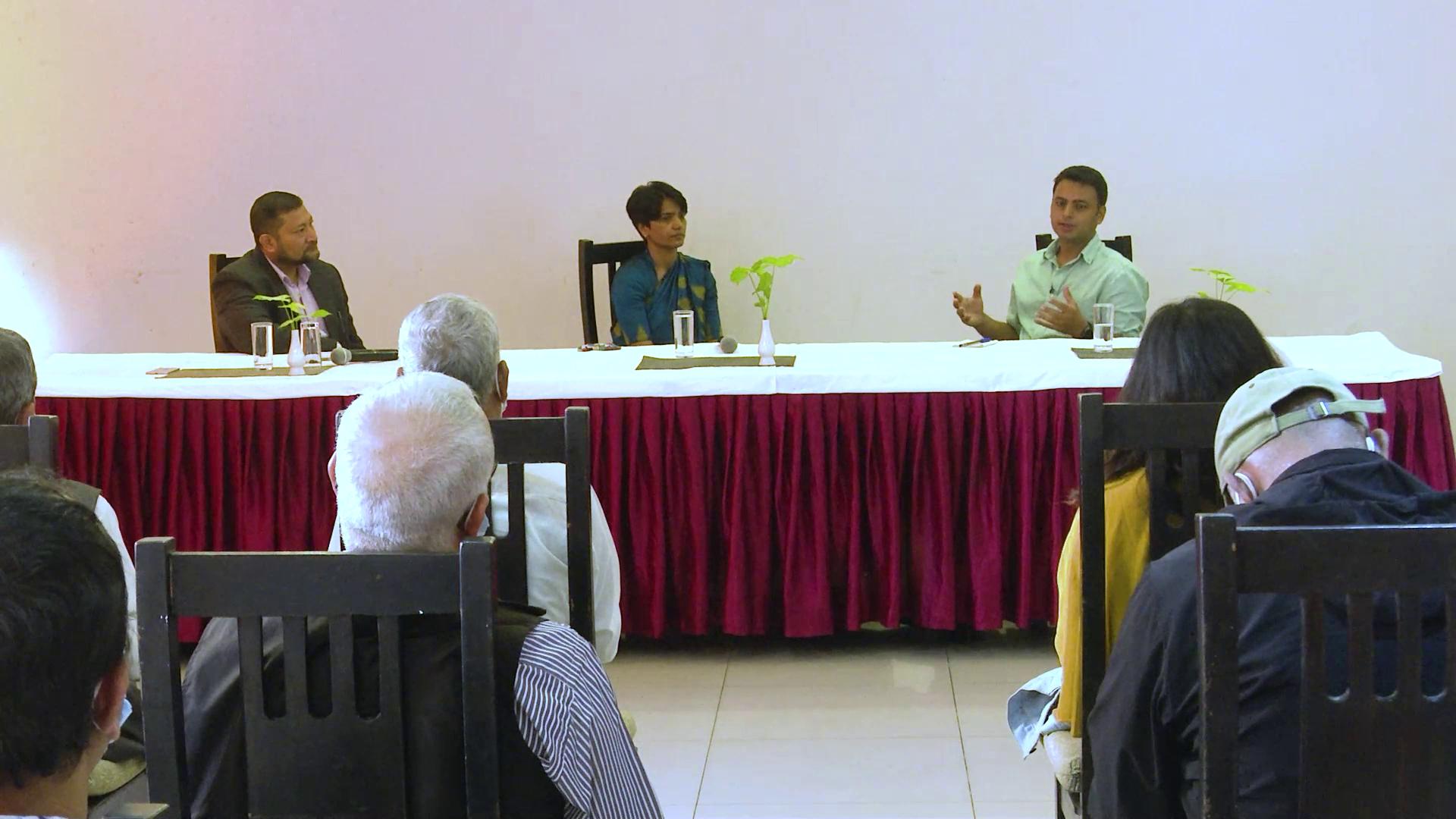 NEFEJ organizes discussion program on Nepal's Strategic Roadmap to COP26